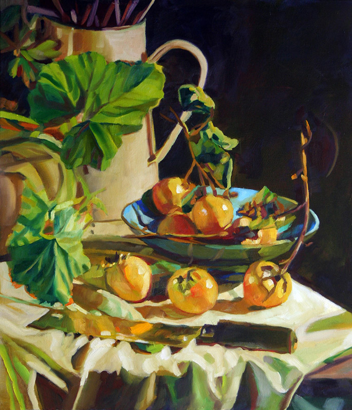 Persimmons-(Autumn-Series)-2016-76-x-66cm-_1