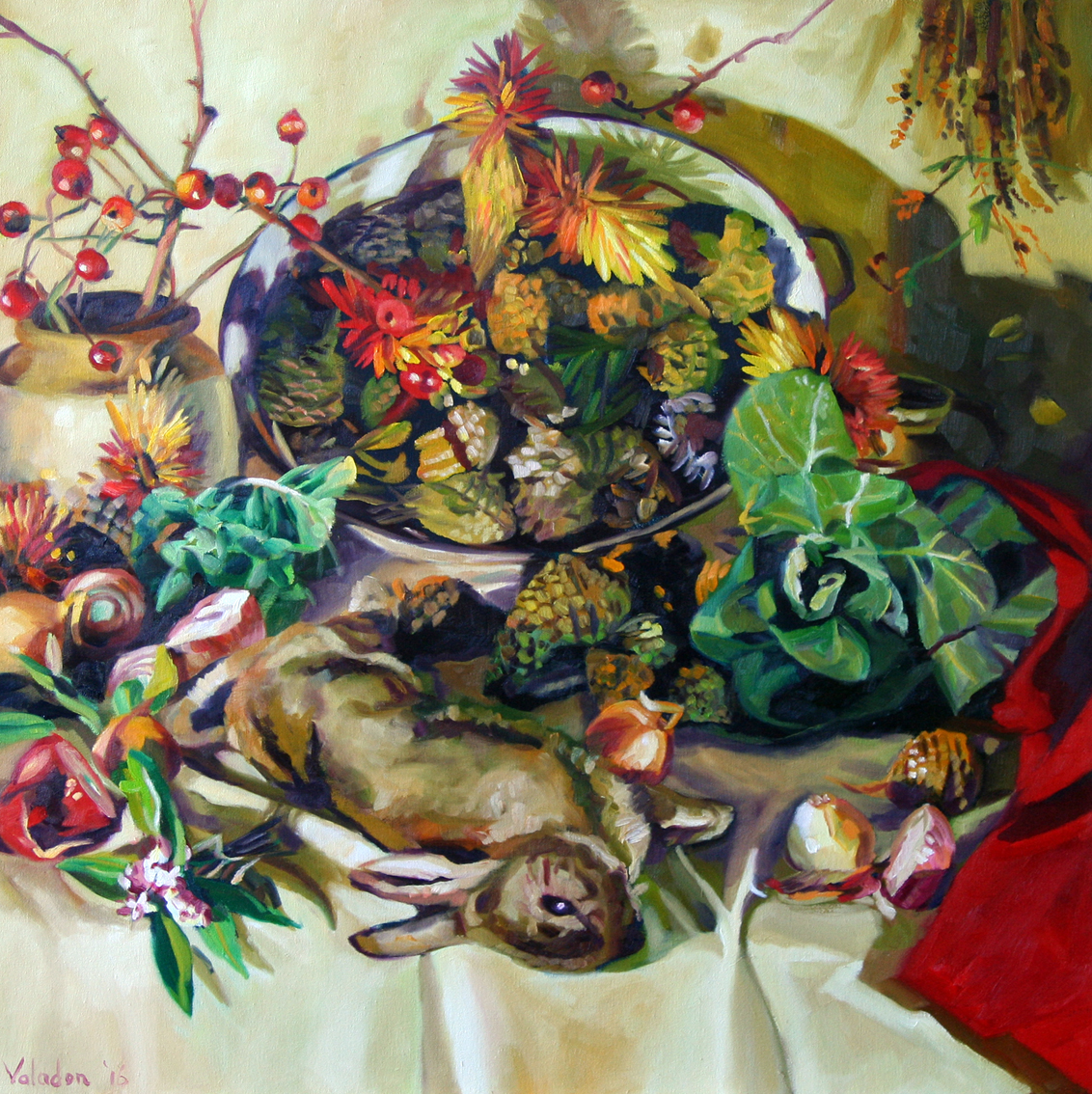 Winter Table I 2016 91x91cm